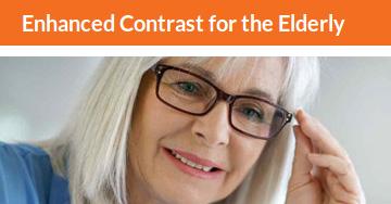 Enhanced Contrast for the Elderly